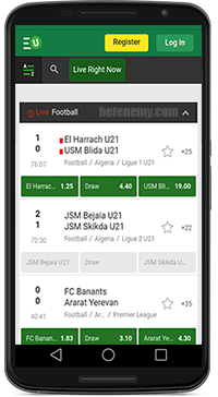 unibet-mobile-live-section