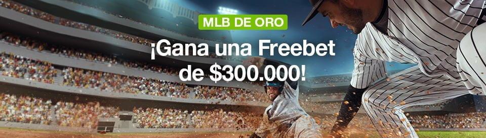 Bono MLB de oro Codere Colombia