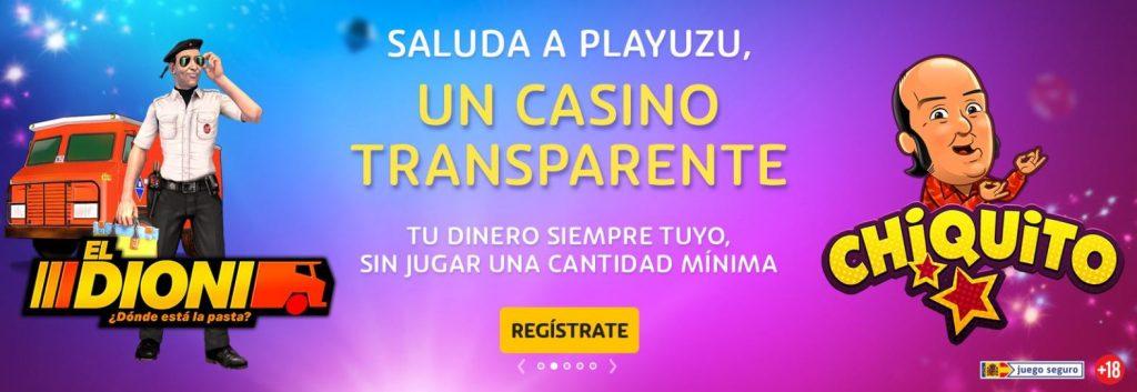 bono playuzu casino