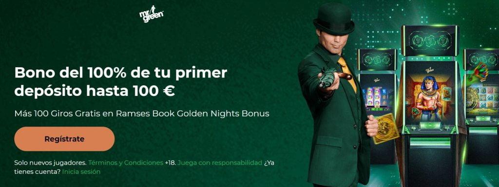 bono mr green casino